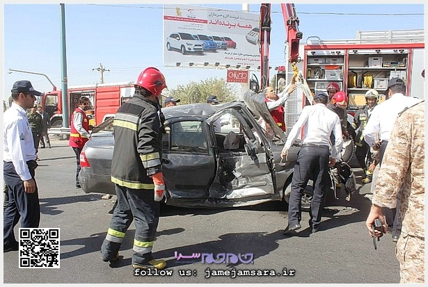 خودرو تیبا تصادف خودرو تصادف تیبا
