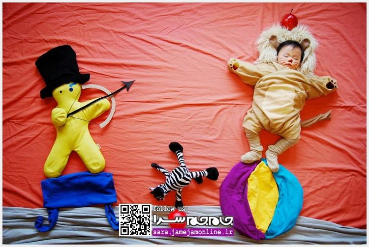 عکس های خلاقانه از رویای کودکان