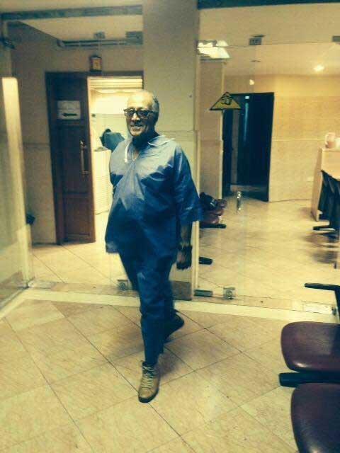 آخرین تصویری که در قاب عباس کیارستمی جای گرفت+عکس