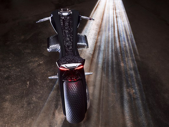 موتورسیکلت جدید بام و +عکس