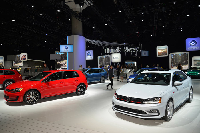 گزارشتصویری از نمایشگاه خودرو لسآنجلس