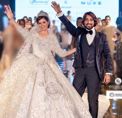 یسرا اللوزی مدلینگ عروس مدلینگ مدل لباس عروس جدید مدل تور عروس زیباترین لباس عروس زن مصری زن مدل جدیدترین مدل تاج عروس تاج عروس مدل ملکه ای Yosra El Lozy