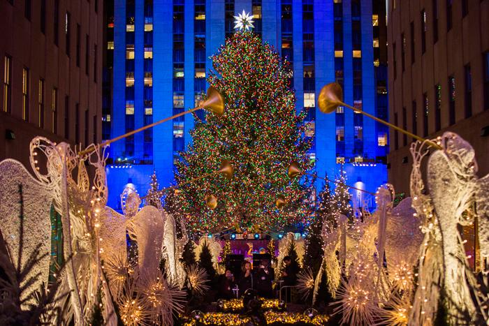 تزئینات جشن کریسمس و سال جدید میلادی در جهان +عکس