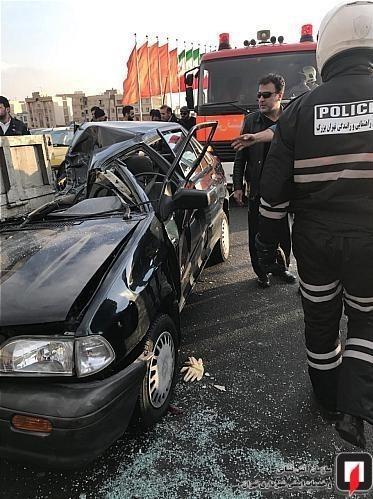 قیمت پراید عکس رانندگی زنان عکس تصادف دلخراش عکس تصادف خودرو حوادث تهران تصادف وحشتناک در ایران تصادف پراید امنیت پراید
