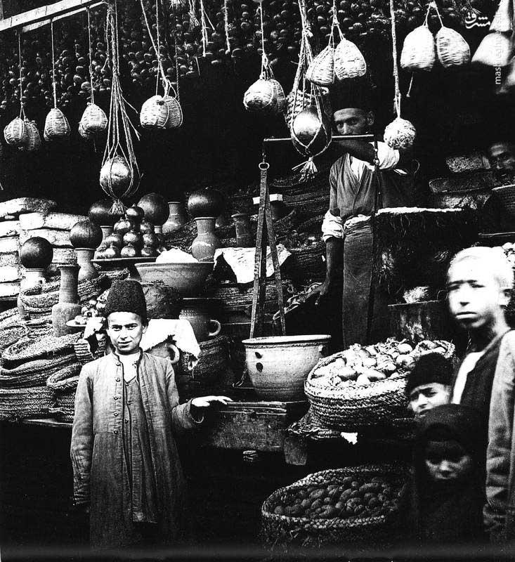 بقالی در عهد قاجار+عکس