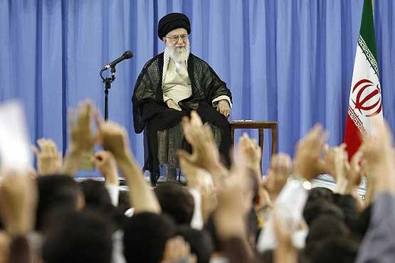 رهبر معظم انقلاب,حضرت آیت الله خامنه ای,دیدار