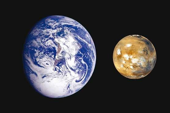 مریخ,زمین
