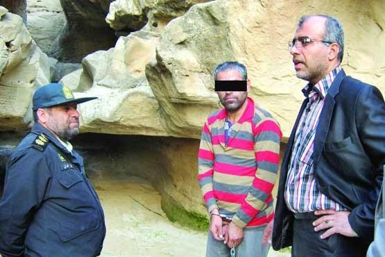 فیضالله مرادی,شهرستان شبانکاره,جسد زن گمشده