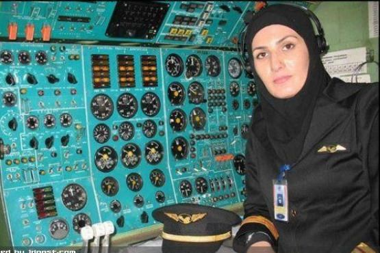 دختر 27ساله ایرانی تنها مهندس پرواز زن در جهان!