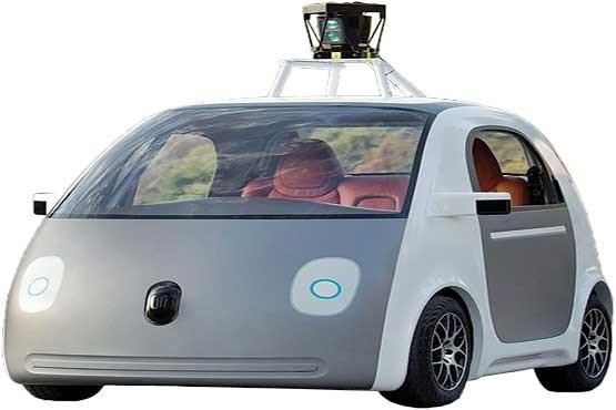 گوگل,ماشین بدون سرنشین