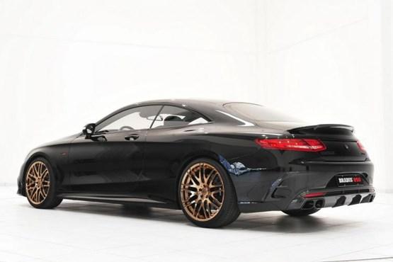 مشخصات مرسدس بنز قدرتمندترین خودرو کوپه خودرو براباس بهترین خودرو کوپه brabus S63 AMG