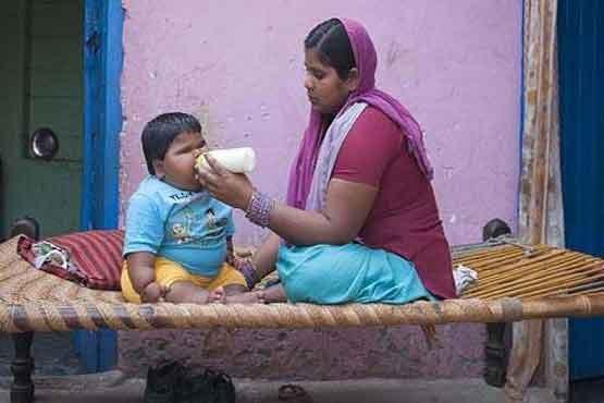 کودک چاق عکس بچه چاق زیباترین عکس کودک