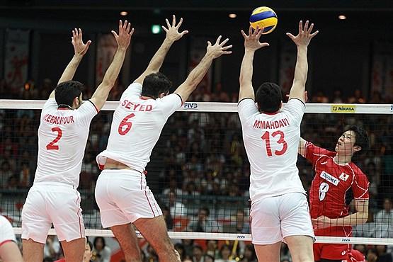تصویر   حریفان والیبال ایران در انتخابی المپیک مشخص شدند
