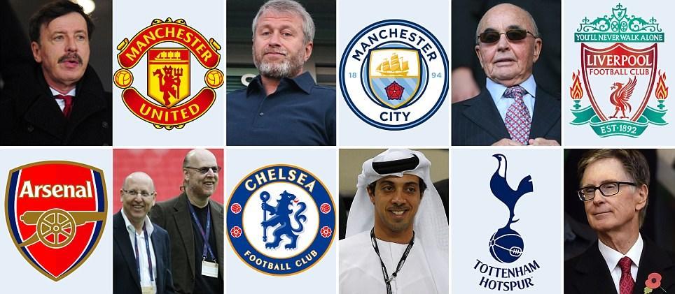مردانی از جنس پول در لیگ برتر انگلیس (عکس)