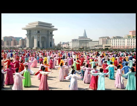 عکس کره شمالی زندگی در کره شمالی زن کره شمالی دختر کره شمالی توریستی کره شمالی اخبار کره شمالی