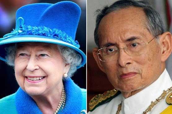 ملکه الیزابت دوم جانشین پادشاه متوفی تایلند شد