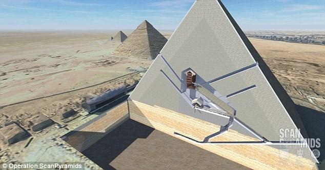 کشف دو اتاق اسرار آمیز در مقبره فرعون (عکس)