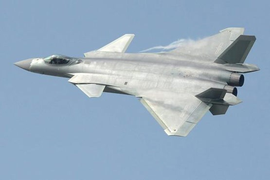 چین از یک جنگنده رادارگریز رونمایی کرد +عکس