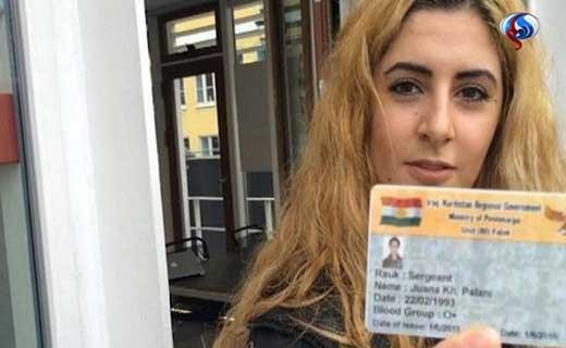 دختر ایرانی جنایات داعش بیوگرافی جوانا پالانی اخبار داعش Joanna Palani