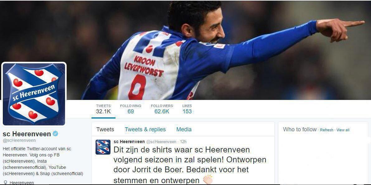قوچان نژاد، تصویر اصلی توئیتر باشگاه هیرنوین (عکس)