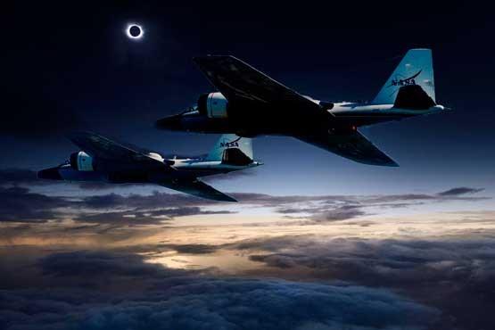 سایه را در آسمان تعقیب کنید! +عکس