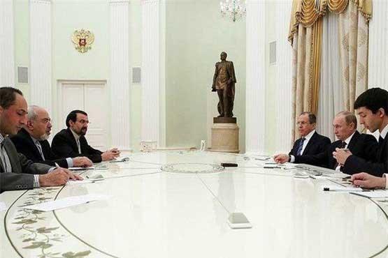 ظریف با پوتین دیدار کرد +عکس