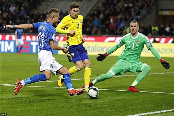 آه زیدان ایتالیا رو گرفت! / جام جهانی بدون ایتالیا مثه شب یلدای بدون اناره