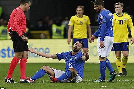 ضرر باور نکردنی ایتالیا بابت نرسیدن به جام جهانی