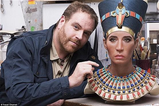 مشهورترین ملکه مصر با جواهرات جدیدش برگشت +عکس