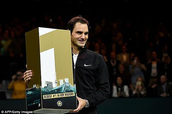 جایزه ای برای مسن ترین تنیسور شماره یک تاریخ +عکس