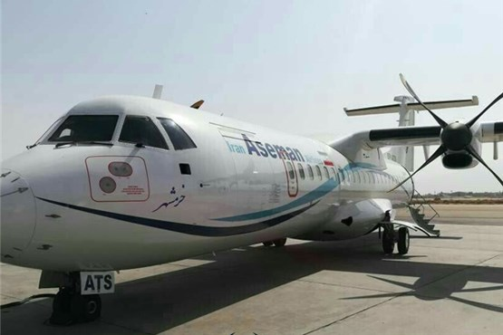 آخرین تصاویر هواپیمای  ATR سانحه  دیده آسمان +عکس