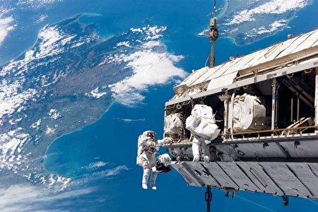 بدنه ایستگاه فضایی بین المللی سوراخ شده است