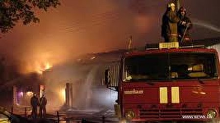 آتش سوزی در یک مرکز نگهداری سالمندان در اسپانیا