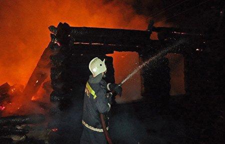 زوج مرندی در آتش سوختند