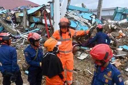 شمار قربانیان زلزله اندونزی افزایش یافت