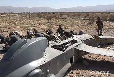 جزئیات عملیات شکار پهپاد تهاجمی نیروی هوایی آلسعود+عکس