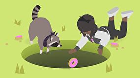 بازی Donut County؛ حفرهای که همهچیز را میبلعد