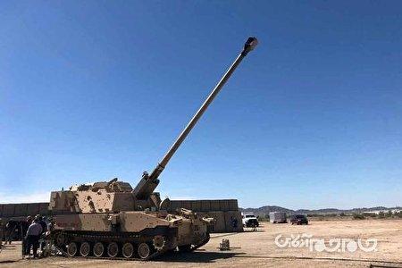 هویتزر ارتش آمریکا به رکورد جدیدی دست یافت+عکس