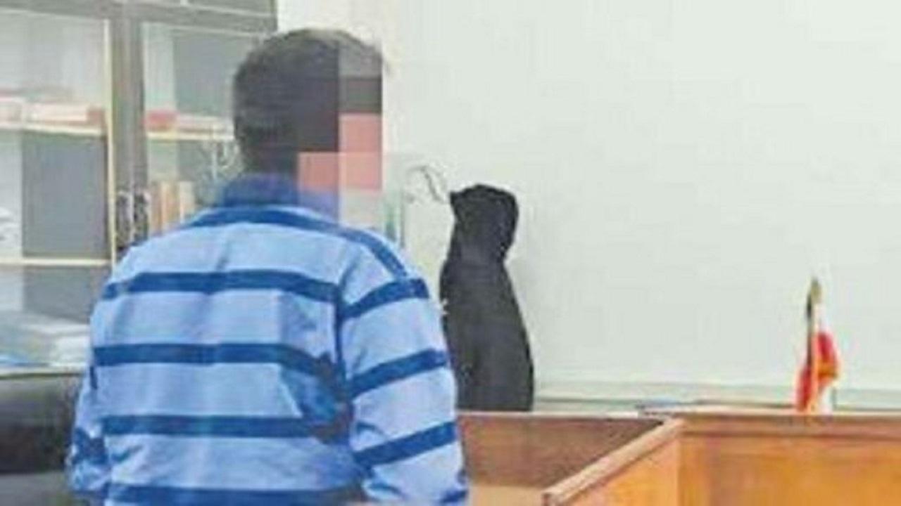 متهم به قتل در دادگاه: همسرم خودش از پله افتاد