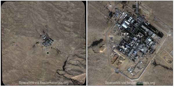 توسعه سایت هستهای دیمونای رژیم صهیونیستی (+عکس)