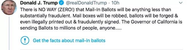 ترامپ به توئیتر اعلان جنگ کرد