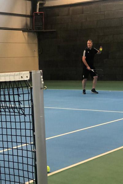 وقتی علی کریمی و اسکوچیچ با هم تنیس بازی می کنند (عکس)