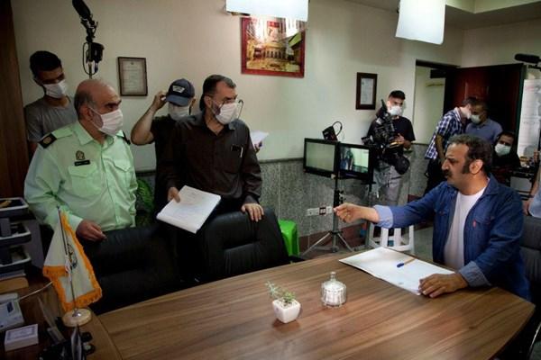 اولین تصاویر از سریال دهنمکی/ بازیگران جدید در «دادِستان»