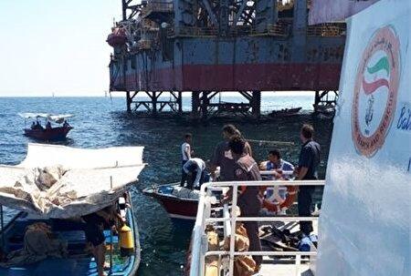 پیدا شدن جسد غواص غرق شده در نزدیکی سکوی نفتی فروزان