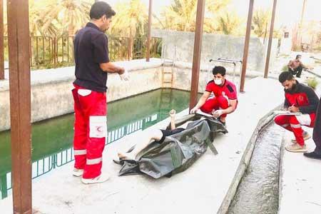 غرق شدن پسر ۱۶ ساله در استخر