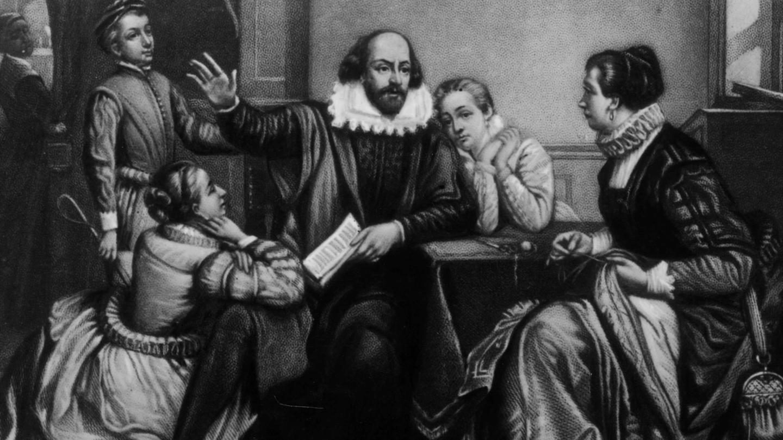 بانوی سیاهپوش آثار شکسپیر کیست ؟