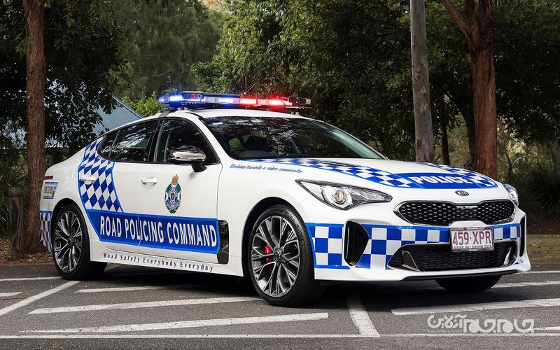 جذاب ترین خودروهای پلیس جهان در سال ۲۰۱۸+تصاویر