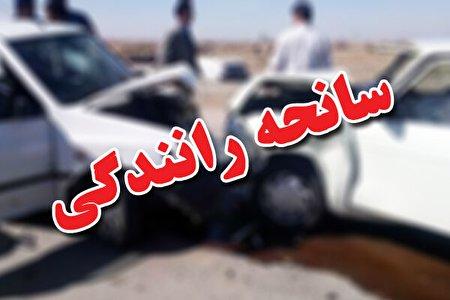 ۷ نفر در سانحه رانندگی جاده باغملک به ایذه مصدوم شدند