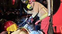 تصادف زنجیرهای در بلوار تندگویان،۱۷ نفر مصدوم برجای گذاشت