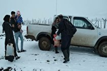 امدادرسانی به زن باردار و مهار آتشسوزی در تالش